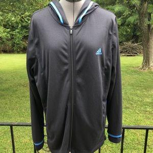 Adidas hooded jacket EUC